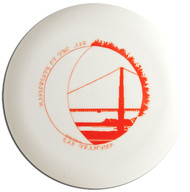 FLOATER COLLECTION FRISBEE FLYING DISC - UNIVERSITY OF THE AIR, SAN FRANCISCO