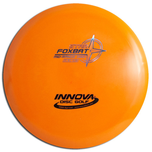 INNOVA STAR FOXBAT DISC GOLF MID-RANGE DRIVER, ORANGE