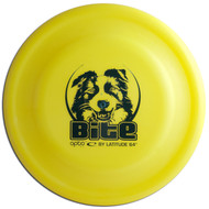 LATITUDE BITE DOG DISC, yellow