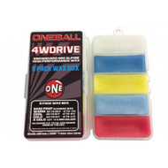 One Ball Jay 4WD 5 Pack Snowboard and Ski Wax