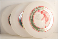 WHAM-O WORLD CLASS G SERIES FRISBEE SET 1980 NORTH AMERICAN SERIES SET