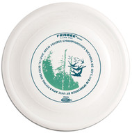 WHAM-O FRISBEE FASTBACK FB5 FLYING DISC 1983 UVIC OPEN