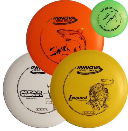 Innova Disc Golf Beginner Set with Mini disc