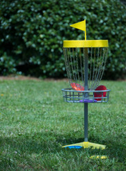 INNOVA MINI DISCATCHER BASKET - DISC GOLF SET WITH SIX MINIS