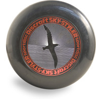 DISCRAFT SKY-STYLER COLLECTION - BLACK BIRD DESIGN RED TYPE 160g FREESTYLE FLYING DISC
