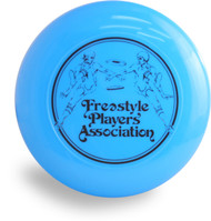 DISCRAFT SKY STYLER FREESTYLE PLAYERS ASSOCIATION FRISBEE BLUE