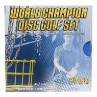 LATITUDE 64 WORLD CHAMPION DISC GOLF SET - RETRO DISC GOLF 3 PACK