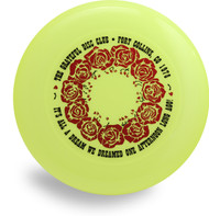 DISCRAFT SKY STYLER FREESTYLE DISC - CUSTOM GRATEFUL DISC ROSES
