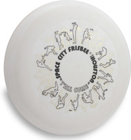 WHAM-O FRISBEE 81 MOLD CUSTOM PRINT SPACE CITY FREESTYLE FRISBEE HOUSTON