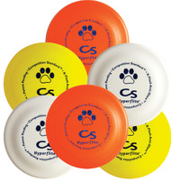 HYPERFLITE COMPETITION STANDARD 6 PACK K9 FRISBEE DOG DISCS