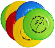 WHAM-O FASTBACK FRISBEE SIX PACK - 6 WRIGHT LIFE DOG DISCS