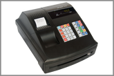 Optimas OP-450 Black Cash Register