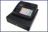 Optimas OP-460 Black Cash Register(small drawer)