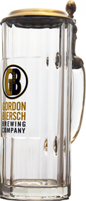 It would be a shame if a bug landed in your beer, no? GB has your suds covered with the 16 oz Wallenstein with and attached lid. Decorated with our new logo, this Wallenstein has your beer's best interest in mind. Sold individually.