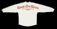 hook 'em horns spirit jersey