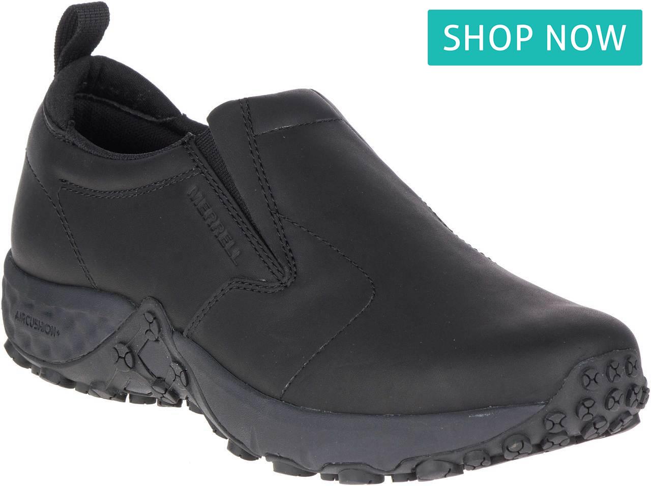 Merrell Men's Jungle Moc AC+ Pro Work Shoe in Black