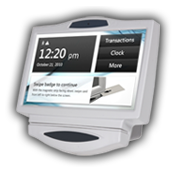 GT550 Biometric Fingerprint Time Clock from Acumen Data Systems