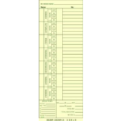 3826R Time Cards