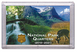 "Frosted 3"" x 5"" Case for National Park Quarters Deer and Meadow (6 Holes)"