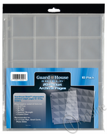 Guardhouse Shield Polypropylene Pages: 20 Pockets (Pack of 10)