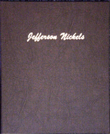 Dansco Album #7113- Jefferson Nickels 1938- 2005