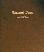Dansco Album #8125- Roosevelt Dimes 1946- 2013 with Proof