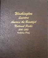 Dansco Album #8146-America The Beautiful National Park Quarters 2010-2015 with Proof Vol.1