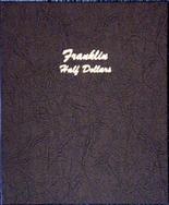 Dansco Album #7165- Franklin Half Dollars 1948-1963