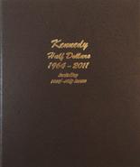 Dansco Album #8166- Kennedy Half Dollars 1964-2012 with Proof Vol.1