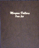 Dansco Album #7171- Morgan Silver Dollars Date Set 1878-1921