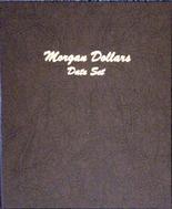 Dansco Album #7171- Morgan Silver Dollars Date Set 1878-1921