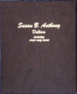 Dansco Album #8180- Susan B. Anthony Dollars 1979-1999 with Proof