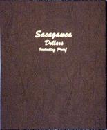 Dansco Album #8183- Sacagawea Dollars 2000- 2015 with Proof