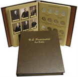 Dansco Album #7184- Presidential Dollars 2007-2015 P&D