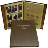 Dansco Album #7186- Presidential Dollars 2007-2015 Date Set