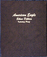 Dansco Album #8181- American Silver Eagles 1986-2006 with Proof Vol.1