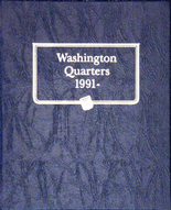 Whitman Album #9123 - Washington Quarters 1991-1998 P,D&S