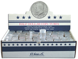 HE Harris Round Tubes for Half Dollars