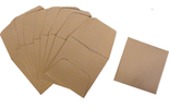 Archival Paper Coin Envelopes - Tan -Pack of 500