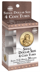 HE Harris Small Dollar Size 4 Round Tubes - Retail Package