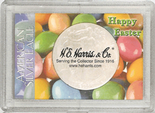 """Frosted 2"""" x 3"""" Case for American Silver Eagle Dollars: Happy Easter"""