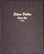 Dansco Album #7172 - Silver Dollar Date Set 1878 - Date