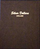 Dansco Album #7173 - Silver Dollar 1878 - 1893