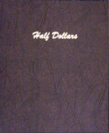 Dansco Album #7157 - Half Dollars - Plain