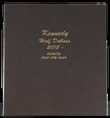 Dansco Album #8167- Kennedy Half Dollars 2012-2016 with Proof Vol.2