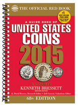 Red Book Price Guide of United States Coins - 2015 Edition- Spiral
