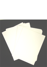 Whitman Album 10 Premium Currency Album Refill Pages - Large Notes - Clear View Pages