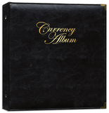 Whitman Album Premium Currency Album - Small Notes - Clear View Pages