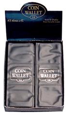 HE Harris Coin Wallet:18 Pockets