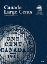 Whitman Folder - Canadian Large Cents 1858-1920